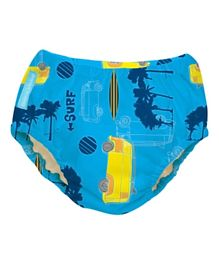 Charlie Banana 2 in 1 Swim Diaper & Training Pants Malibu Extra Large - Blue