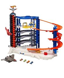 Hot Wheels - Tracks & Playsets - Super Ultimate Garage - Multicolor