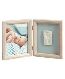 Baby Art Imprint & Photo Frame - Brown