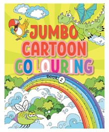 Pegasus Little Kitabi Jumbo Cartoon Coloring Book 2 - English