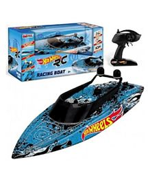 Hot Wheels Remote Control  Racing Boat 2.4Ghz - Blue