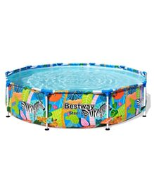 Bestway Above Ground Play Pool - 10 Feet by 25 Inches