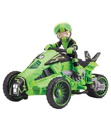 Ben 10 Transforming Vehicle with Figure - Green