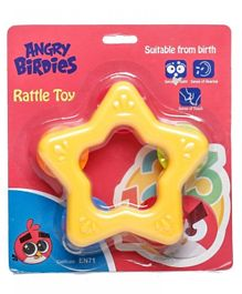 Angry Birds Star Rattle Toy - Yellow