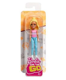 Barbie On the Go Doll - Pink Blue