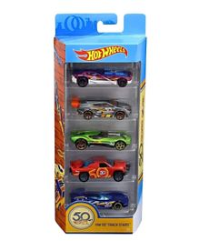 Hot Wheels 50TH ANNIVERSARY  5-PACK - Multicolour