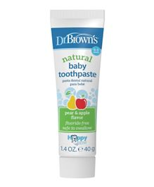 Dr. Brown''s Happy Teeth Fluoride-Free Toothpaste - 40 gm
