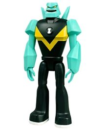Ben 10 Giant Diamondhead Figure Green - 10 Inches