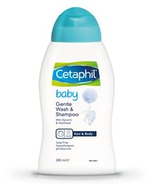 Cetaphil Baby Gentle Wash & Shampoo- 300 ml