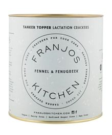 Franjos Kitchen Tanker Topper Crackers – Fennel and Fenugreek - 255 grams