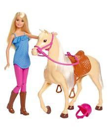 Barbie Doll & Horse - Multicolor