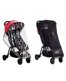 Mountain Buggy  Nano All Weather Set - Black and Clear