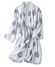 Eco Souk Reversible Organic Cotton Robes - Fort