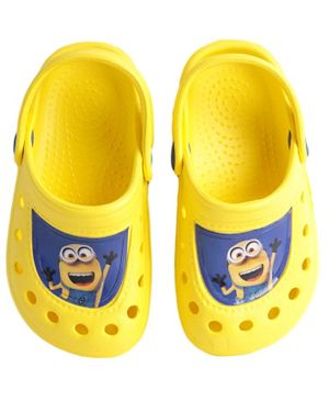 Minions Boys Clogs - Yellow