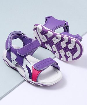 Cute Walk by Babyhug Sandals - Purple
