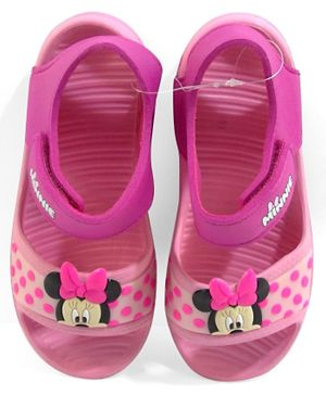 Disney Minnie Mouse Girls Flat Sandals - Pink