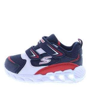 Skechers Magna Lights - Blue and Red