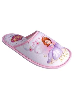 Sofia The First Girls Home Slipper - Pink