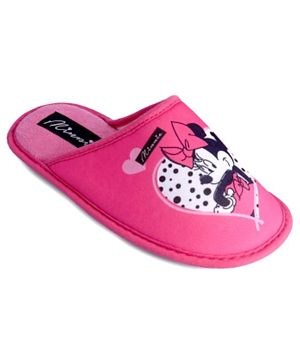 Minnie Mouse Girls Home Slipper Cesano - Pink