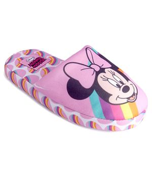 Minnie Mouse Girls Home Slipper - Pink