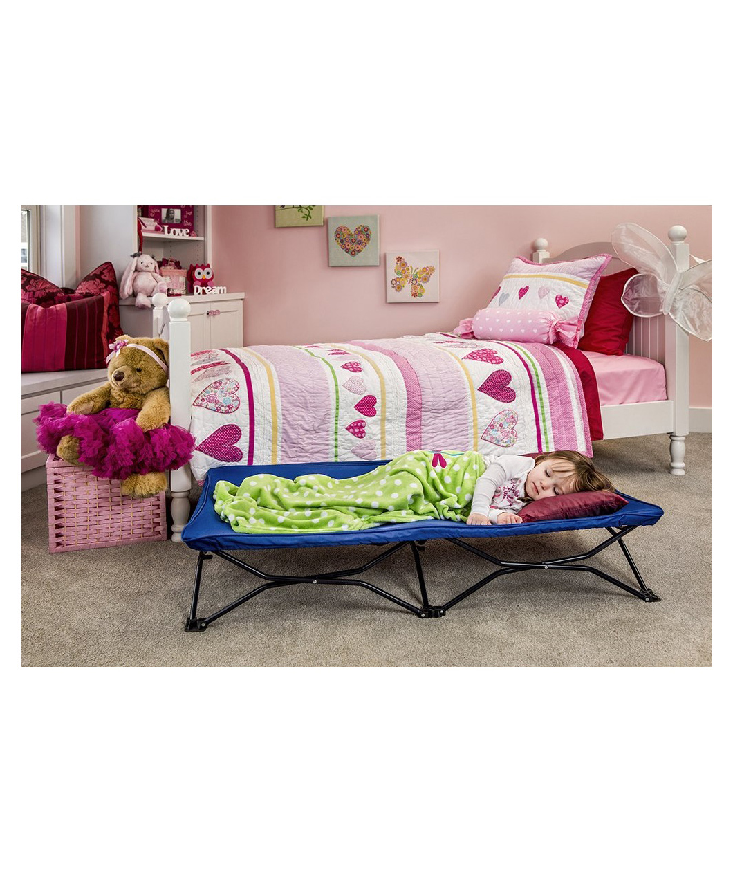 Regalo My Cot Portable Toddler Bed - Royal Blue Online in ...